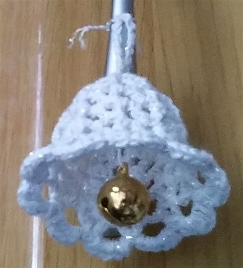 crochet knitting christmas bell