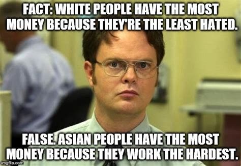 White Memes - puts a hole in the racial earning gap theory imgflip