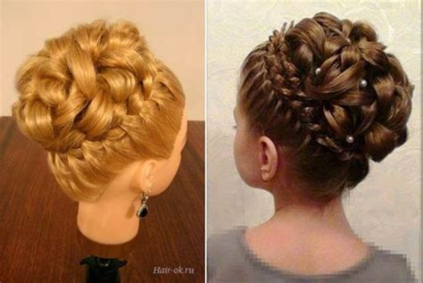 Wedding Hairstyles With Braids And Curls by Hairstyle With Braids And Curls 8 Wonderfuldiy