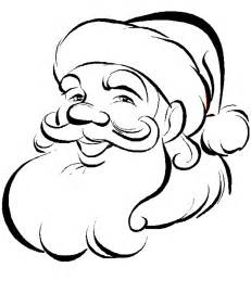 santa coloring sheets coloring pages