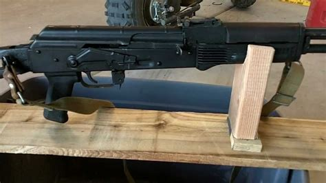 diy ak  ak rifle rest  rifle rest ultimate