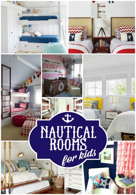 nautical room decor colorful kids rooms 25 fabulous nautical rooms for kids design dazzle