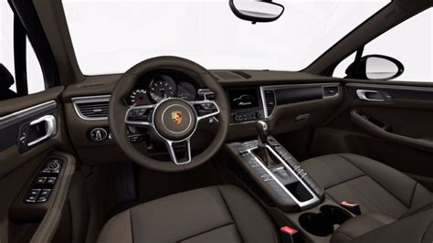 2017 porsche macan turbo interior available 2017 porsche macan interior leather options