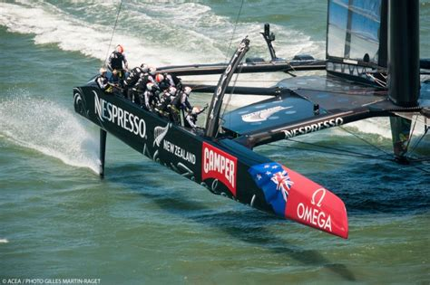emirates nz second point for emirates team new zealand in louis