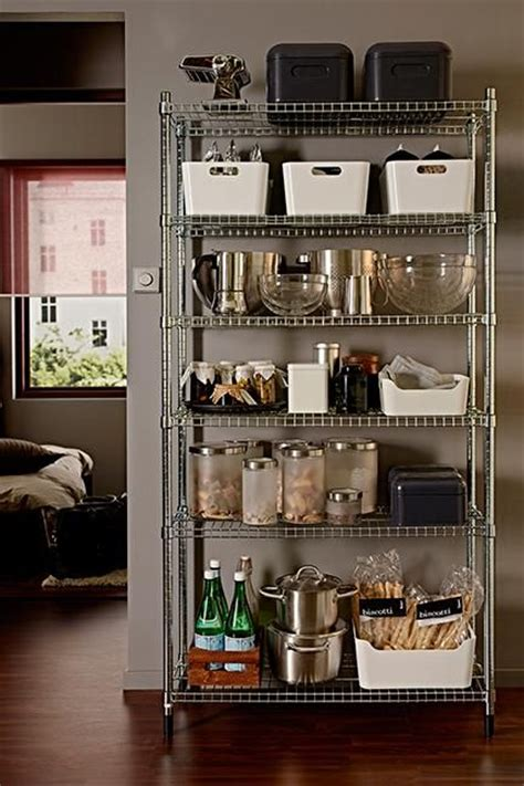 kitchen storage shelves ideas 25 best ideas about wire shelves on wire rack