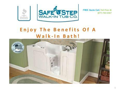 Safe Step Bathtub by Safe Step Walk In Tub