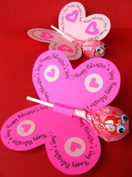 valentine s day lollipop flowers with free printables a printable lollipop butterflies and flowers for spring