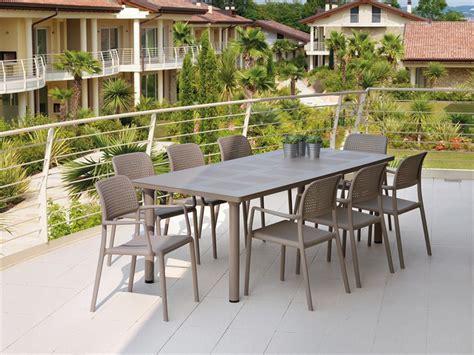 tavolo in ferro da esterno tavolo libeccio nardi tavolo da giardino ed esterni