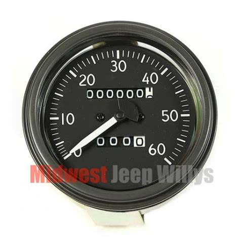 jeep speedometer jeep part 17206 03 complete speedometer assembly