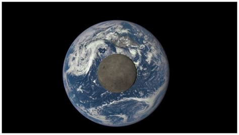 earth image earth s pull is massaging our moon science