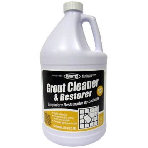 maintex 1 gal grout cleaner and restorer of 4