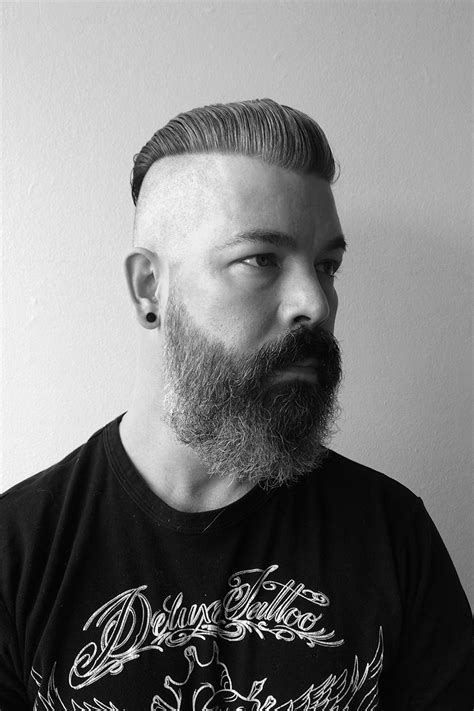 prohibition era hairstyles men prohibition era beards cut of the week slickback undercut