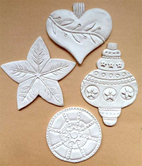 paper clay ornaments so pretty clay ornaments you can make cloth paper scissors