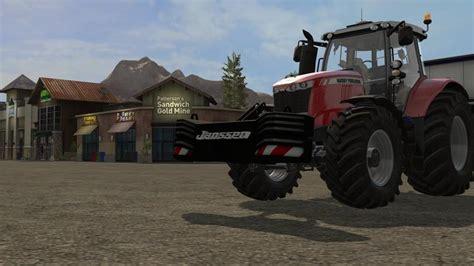 Who Invented Ls by Janssen Gewicht V1 0 Farming Simulator 2017 Mods Fs 17