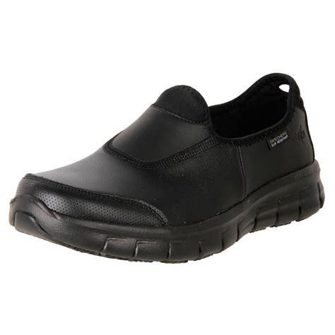Skechers Non Slip by New Skechers S Leather Anti Slip Work Duty Shoe