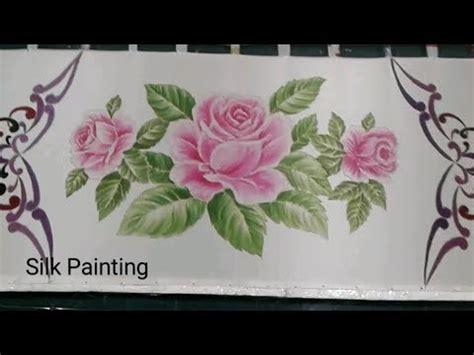 gambar batik bunga mawar