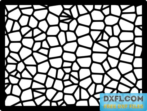 pattern vector file voronoi patterns free dxf files free cad software