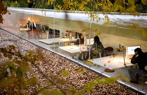 selgas cano architecture office selgas cano s incredible glass office gives employees a
