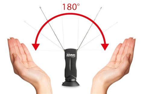 Avermedia Hi Gain Antena Tv bi antenna design provides flexibility for the best
