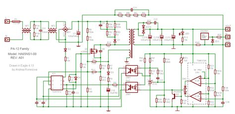layout of power supply network adapter what is the purpose of all these resistors and