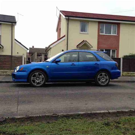 used subaru wrx wagon for sale subaru 2002 impreza wrx blue wagon car for sale