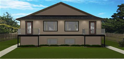 4 Plex Plans By Edesignsplans Ca 4 Plex House Plans Canada