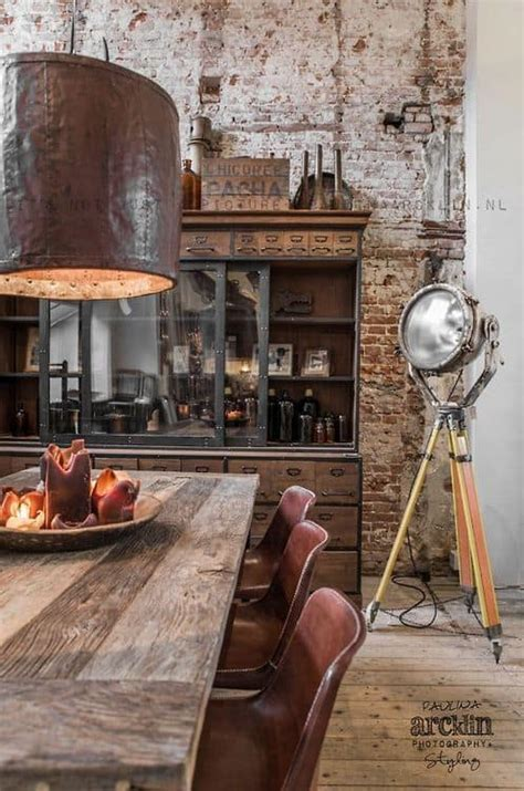 industrial interiors home decor how to create a rustic industrial design line in your home