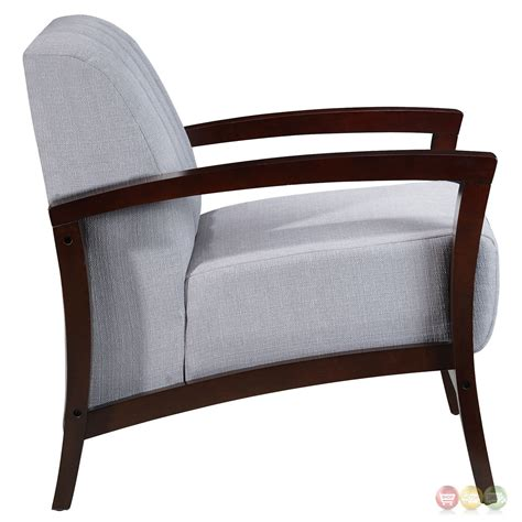 upholstered armchair enamor modern upholstered armchair with solid wood base