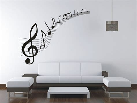 wall vinyl large music music notes wall sticker vinyl decal wall