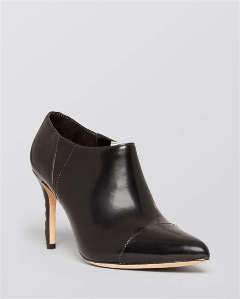 high heeled bootie pointed toe high heel booties dex in