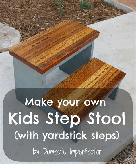Diy Child Step Stool by Woodworking Plans How To Build Child Step Stool Pdf Plans
