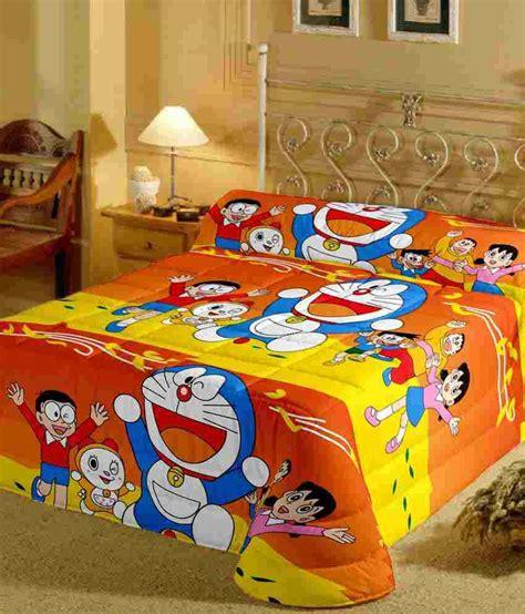 Doraemon New Car Set 18 In 2 single bed sheets adultcartoon co