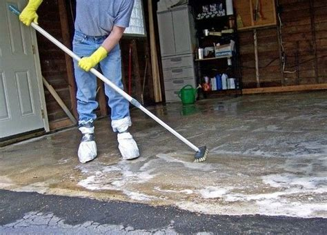 How To Remove Stains From Garage Floor by How To Remove Stains From Your Garage Floor Or