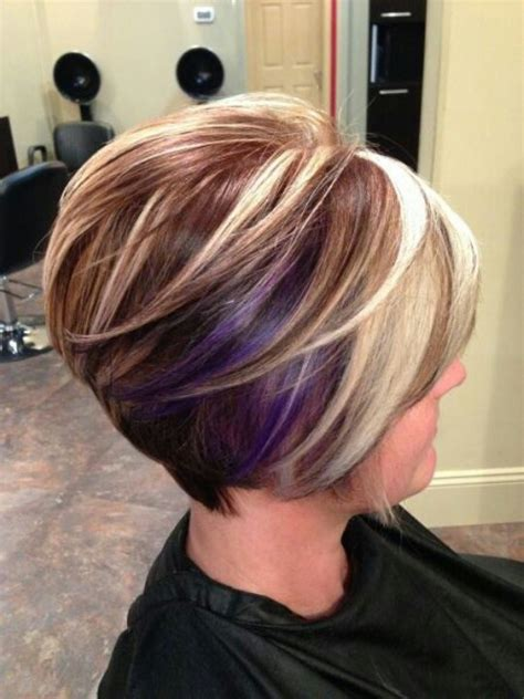 color and cut 30 stacked a line bob haircuts you may like pretty designs