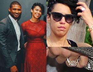 Ushers Canceled Wedding What Happened by Usher Engaged To Grace Miguel See Engagement