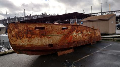 boat salvage rebuilt salvage boat 2 0 building a vessel from the seafloor up