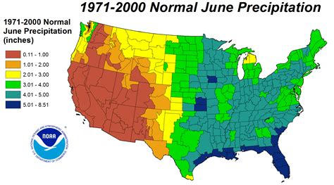 map us rainfall drought june 2012 state of the climate national
