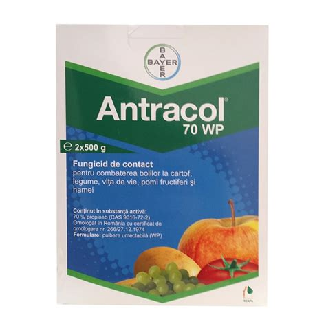 Antracol 1kg fungicid contact antracol 70 wp 1 kg