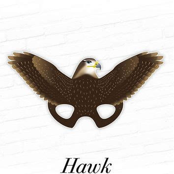 printable hawk mask best halloween props for photo booth products on wanelo