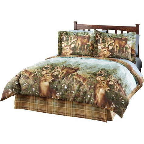 wildlife comforters deer creek wildlife comforter set 4 pc by collections