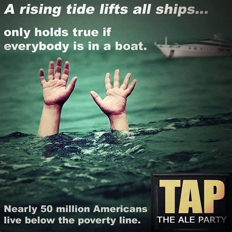 did jfk say a rising tide lifts all boats rising tide think pinterest