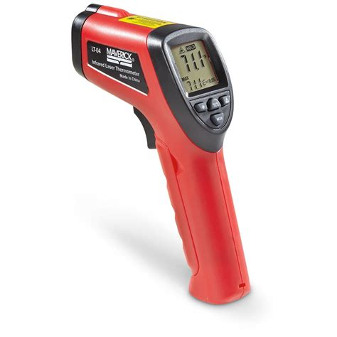 Thermometer Infrared Digital maverick housewares digital laser infrared thermometer