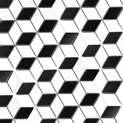 Schwarz Weiss Fliesen by Mosaikfliesen Keramik Kosmos 3d W 252 Rfel Schwarz Weiss Tm33547