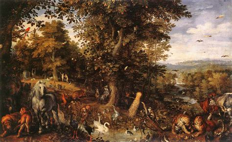 The Fall In The Garden Of Eden - a boomer in the pew contemplating man in the garden of eden before the fall