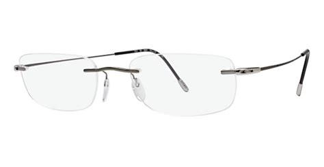 silhouette 7551 eyeglasses made of titanium for unisex