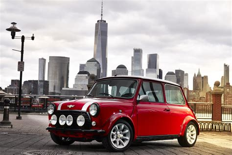 Mini Cooper York by Mini Converts Classic Cooper Into A Retro Electric Hatch