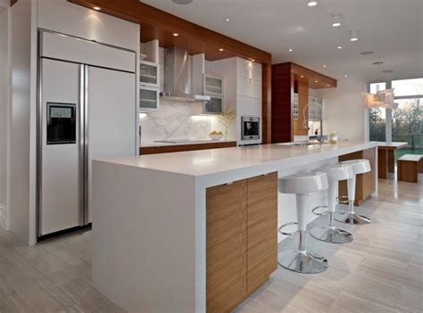 Contemporary Kitchen Countertops Kitchen Countertop Ideas 30 Fresh And Modern Looks