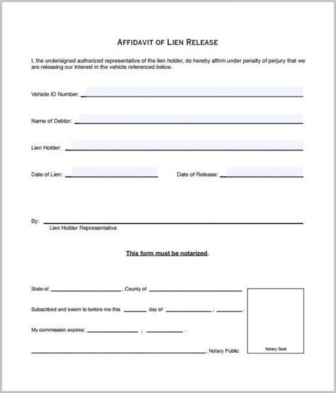 Lien Release Form Ga Dmv Form Resume Exles Ealw86np3q Lien Release Template