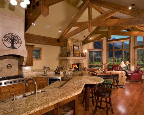 mountain home kitchen design kitchen designs for mountain homes