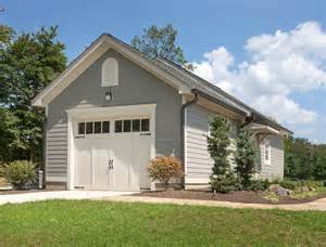 carriage style garage exterior farmhouse with contemporary
